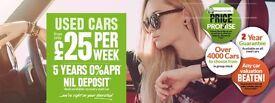 Vauxhall Zafira 1.6 Exclusiv - 0% DEPOSIT FINANCE