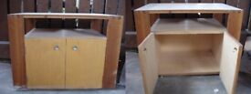 Wooden cabinet, tv stand, sturdy, good condition