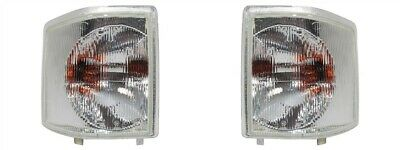 Land Rover Discovery 1 300tdi pair of Clear Front Indicator lamps XBD100760/70 W