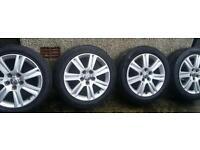17 inch 5x112 genuine alloys wheels
