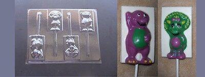 Barney Dinosaur Baby Bop Lollipop Chocolate Candy Soap Crayon Mold