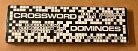 Vintage Crossword Dominoes Game By Onsworld Ltd. Complete And VGC.