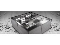 Wellis Volcano Stainless Steel Hot Tub/Jacuzzi/Spa BRAND NEW