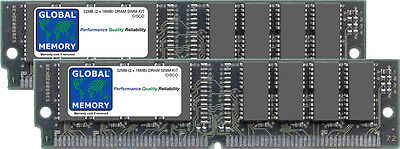 32 Mo (2x16mb) Dram SIMM Kit pour Cisco 7000/7500 routeurs 1 & 2 RSP