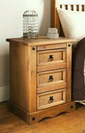 2 x matching bedside drawers excellent condition - can deliver