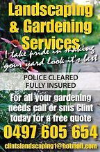 GARDENING SERVICES Yokine Stirling Area Preview