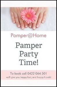 Pamper@Home Mobile Pamper Parties Perth Perth City Area Preview