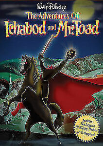 SEALED DISNEY DVD - The Adventures of Ichabod and Mr. Toad Kitchener / Waterloo Kitchener Area image 1