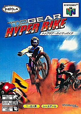 Top Gear Hyper Bike Nintendo 64 Japan Version