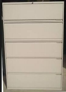 5 DRAWER FILING CABINET - BARELY USED - EXCELLENT CONDITION