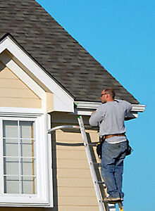 Seamless Eavestroughs, Gutters, Downspouts, Leaf Guard