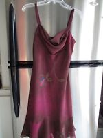 REDUCED: Burgundy party dress