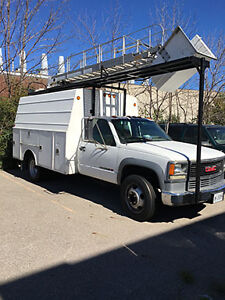 2000 GMC Sierra 3500 SL HD Bucket Truck