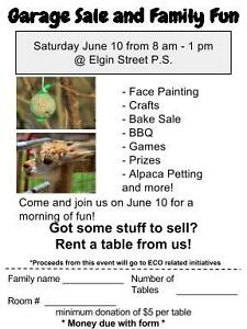 Community Garage Sale and Family Fun Day!!!