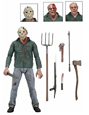 Action Figure - Friday the 13th - Ultimate Part 3 Jason 7 3D