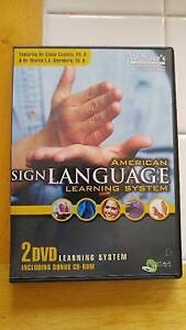 American Sign Language System - Learn Sign Language DVD