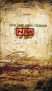 Nine Inch Nails-Closure-2 vhs tape set in clear slipcase