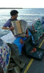 ACCORDIONIST FOR HIRE Camperdown Inner Sydney Preview