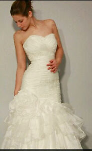 Champagne color wedding gown