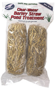 Barley Water Treatment (SUMMIT CLEAR WATER BARLEY STRAW POND TREATMENT )
