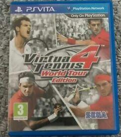 PS Vita Virtua Tennis 4