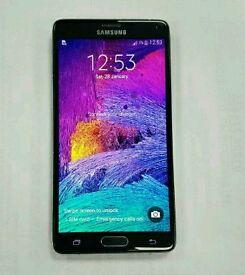 Samsung galaxy note 4 32gb black