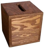 Suggestion Box - Wood