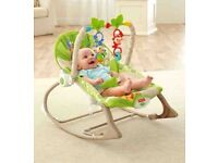 Brand new - Fisher Price Rainforest Infant to toddler rocker