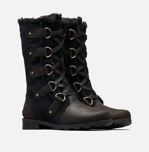 BRAND NEW Sorel Emelie Lace Up boots