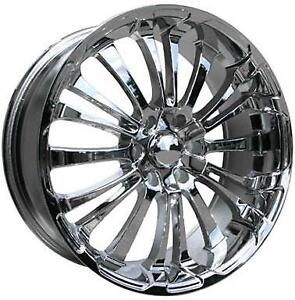 **PROMOTION** MAGS NEUFS 20'' 6 X 139.7 HD WHEELS SPINOUT CHROME