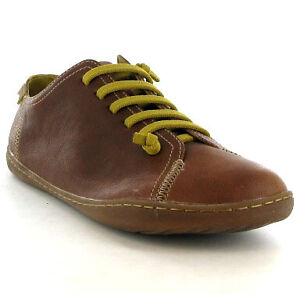Camper-Peu-Cami-18275-031-Mens-Shoe-Light-Brown-Green-Sizes-UK-7-12
