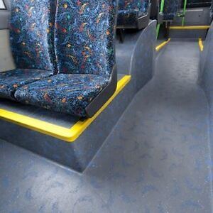 Bus coach flooring heavy duty altro transflor vinyl for Heavy duty vinyl flooring