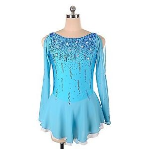 New Figure Skating Competition Dress - Adult S or Girl 14