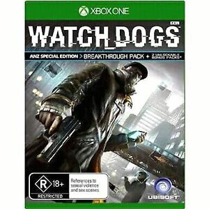 Watch Dogs Xbox one Woodville Gardens Port Adelaide Area Preview