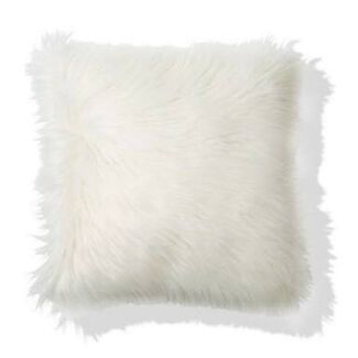 Faux fur cushion - Kmart