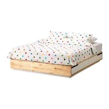 Ikea Mandal Double Bed with as new Sultan Hjartdal matress Curl Curl Manly Area Preview