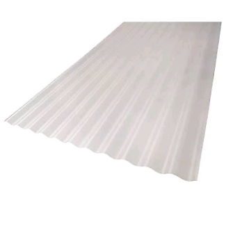 Wanted: Plastic sheets and corrugated tin