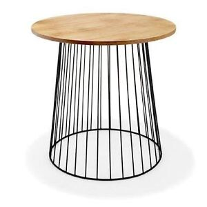 Black wire bedside table x 2 Miami Gold Coast South Preview