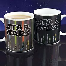 BRAND NEW STAR WARS LIGHTSABER MUG / CUP HEAT CHANGE McMahons Point North Sydney Area Preview