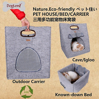 Eco-friendly pet house/bed/carrier