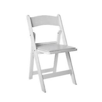 $3 HIRE White Americana Chair