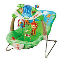 Chaise vibrante Rainforest Fisher-Price