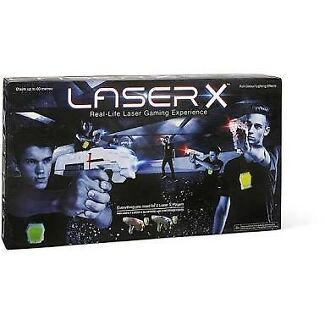 Laser X, 2 x guns and vests