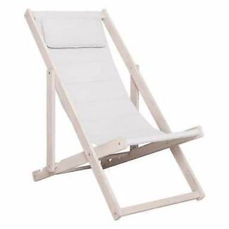 New 2 x Freedom deck chairs