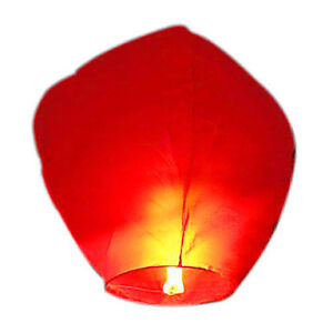 Chinese Flying Sky Lanterns Birthday Wedding Party Celebrations Anniversary