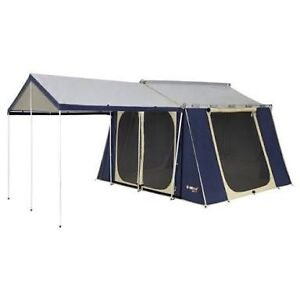 Oztrail canvas 12x9 cabin tent Bentley Park Cairns City Preview