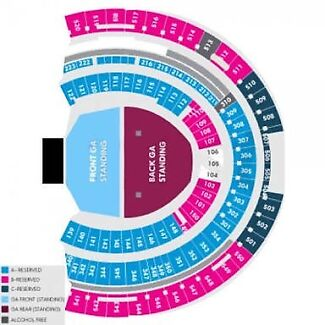 X2 Ed Sheeran Front Standing Tix Perth 2nd March