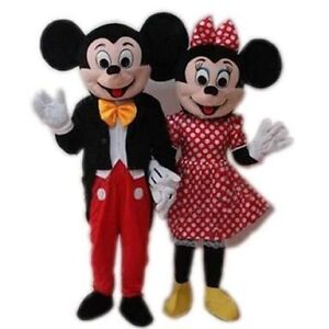 MICKEY MOUSE and MINNIE MOUSE mascots HIRE $100 Derrimut Brimbank Area Preview