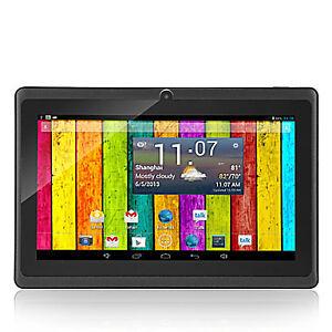 Tablette android 4.2 à 7 pouce noir et neuf