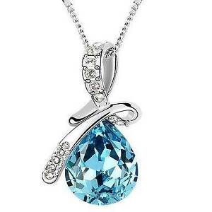 beautiful ladies turquoise pendant and chain Ferryden Park Port Adelaide Area Preview